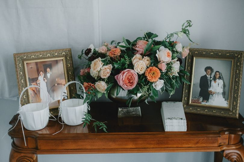 Lovely blooms - Trinity Baptist - Cinderella Wedding Co