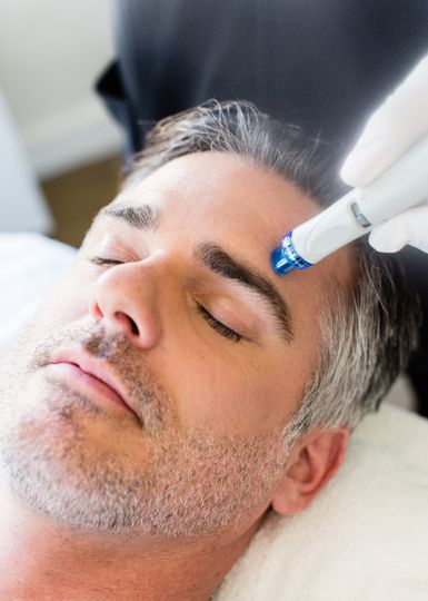 Hydrafacial for men