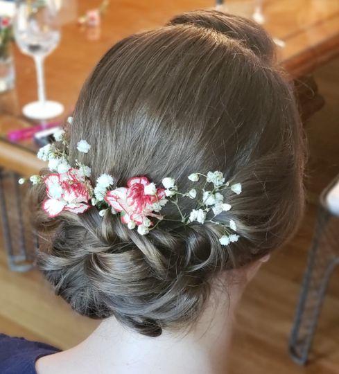 Flowers & buns