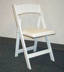 Chair, White Garden