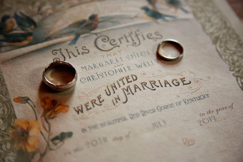 Keepsake Certificate