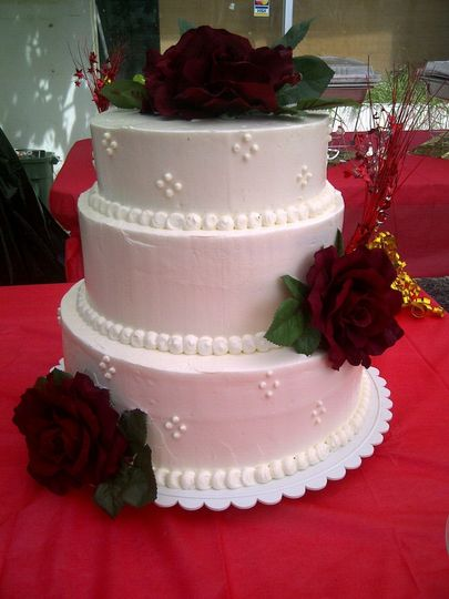 cal wedding cak