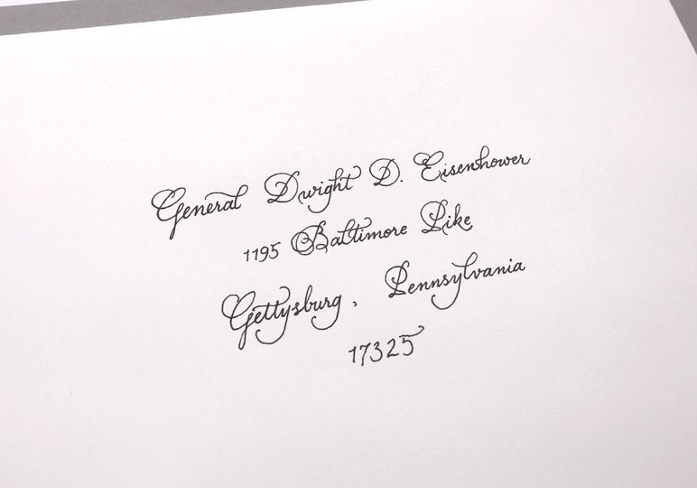 Bickham script is elegant, classic and formal.
