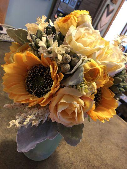 Bridal Bouquet Sample