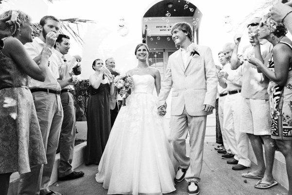 Newlyweds departure