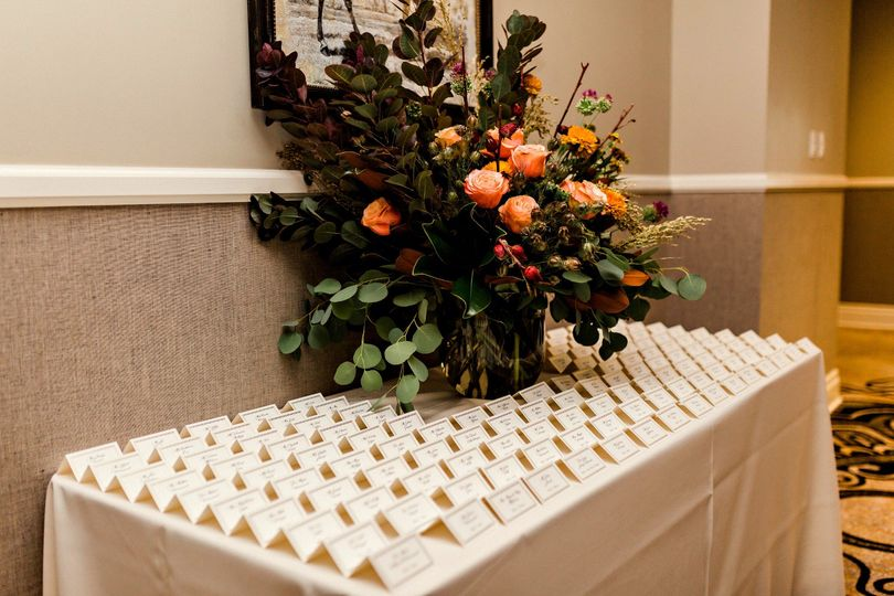 Name Card Table