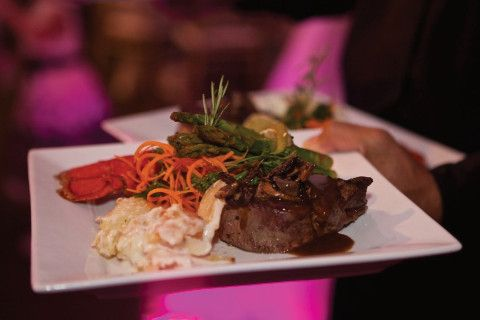 New York Steak with Lobster