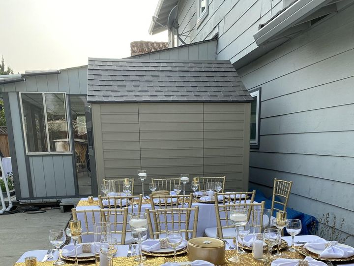 Tmx Chairs And Tables 51 1271167 160026919793577 San Jose, CA wedding catering