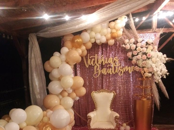 Tmx Night Ballon Wall 51 1271167 160026916996783 San Jose, CA wedding catering