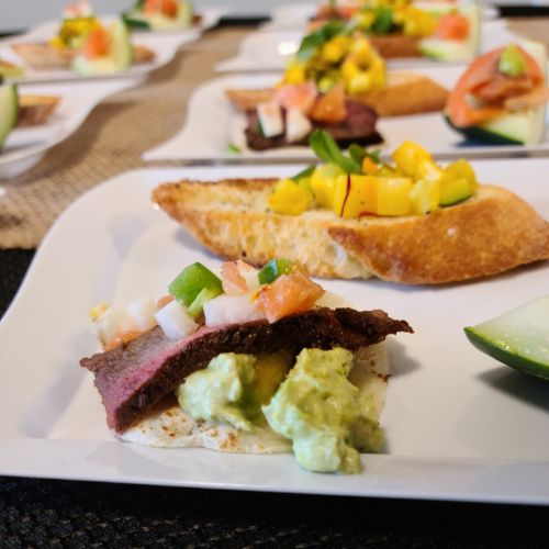 Hors d'oeuvres trio