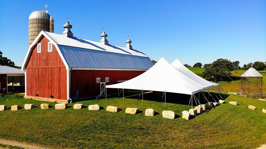 Barn and Tent
