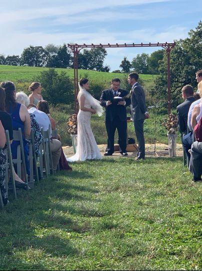 Sundial ceremony
