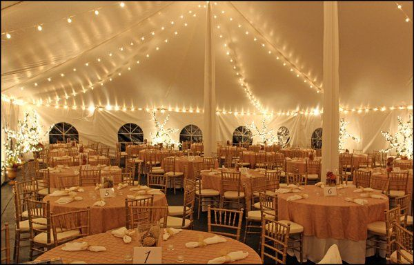 A formal wedding dinner in Covington