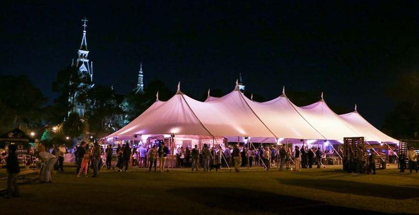 macon octoberfest tent
