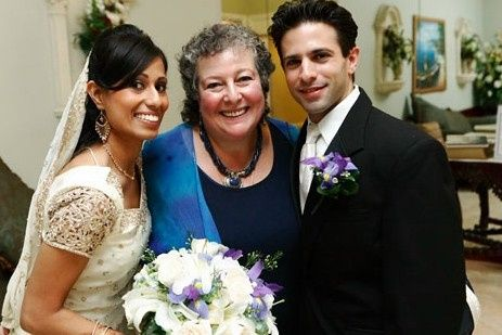 Rev. Deb performed this wedding with a with a Muslim Bride and a Christian Groom.