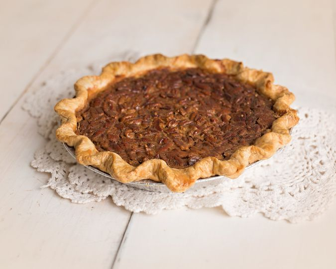Brown pie