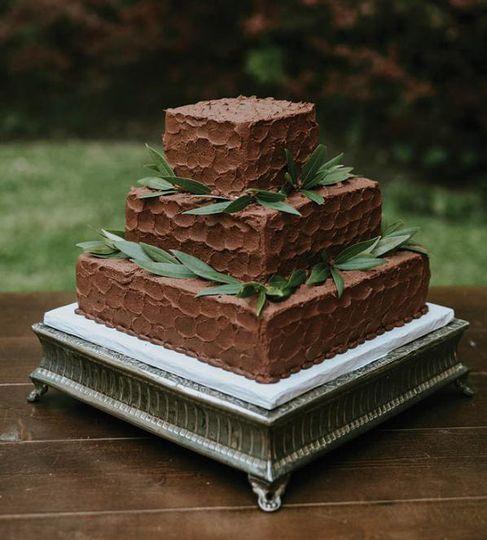 Groom's cake Whipped design