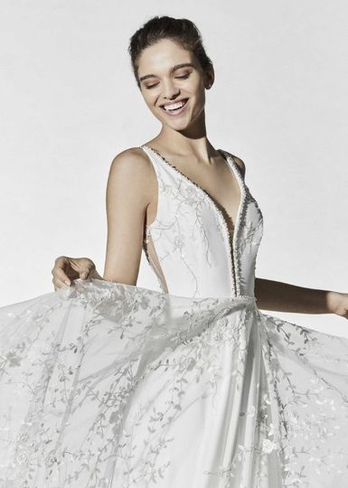 Savin London gown
