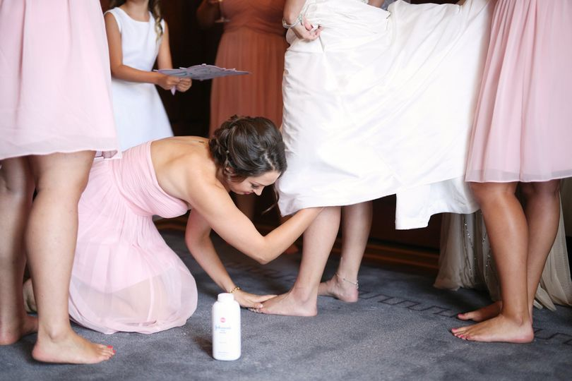 Always helping the Bride