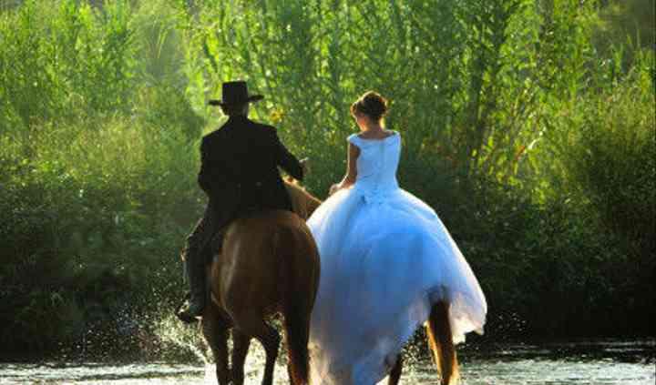Runaway Bride And Groom