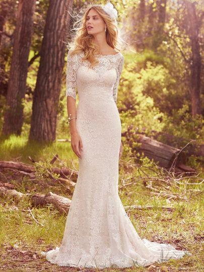 Lace longs sleeves