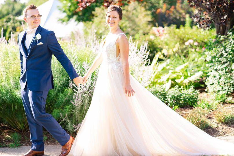 Bride and groom - Emily Hancock Photography