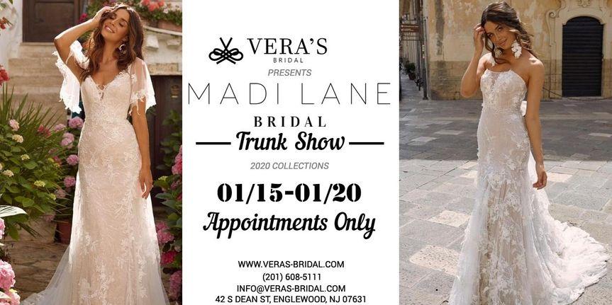 Madi Lane Bridal Trunk Show