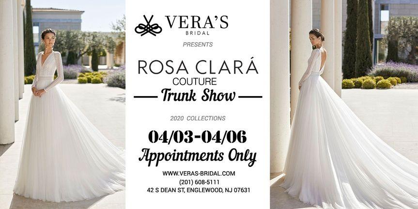 Rosa Clara Trunk Show 04/03-04