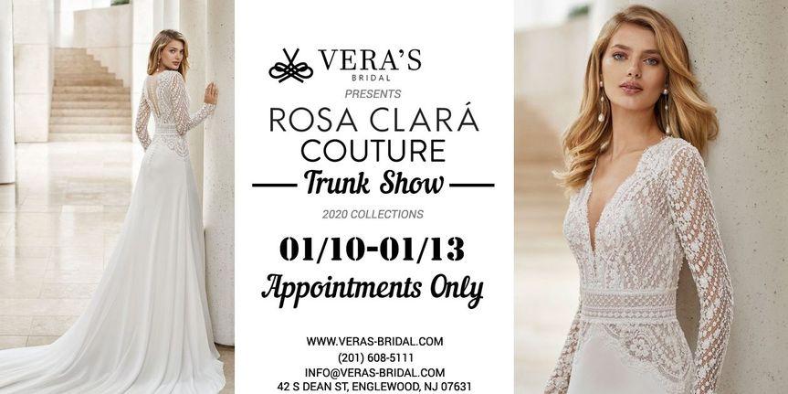 Rosa Clara Couture Trunk Show