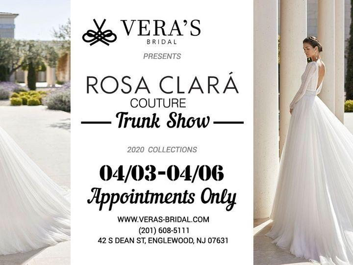 Tmx Rosa Clara April 51 1098167 158422395310362 Englewood, NJ wedding dress
