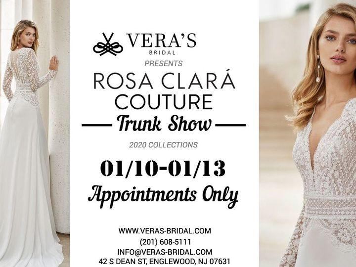 Tmx Rosaclara Couture Trunkshow Web January 51 1098167 157695059823939 Englewood, NJ wedding dress