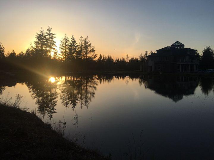 Sunset on Havens Lake