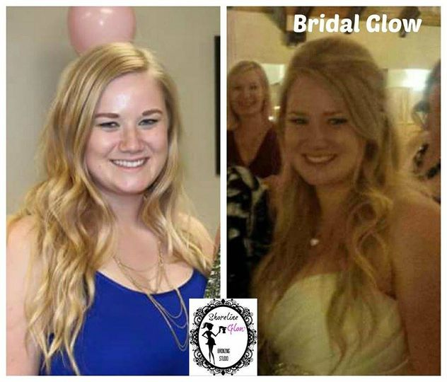 Bridal Spray Tanning By Shoreline Glow
