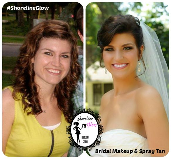 Bridal Spray Tanning & Makeup By Shoreline Glow