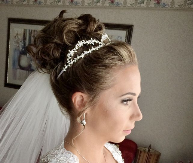 Curls with the tiara