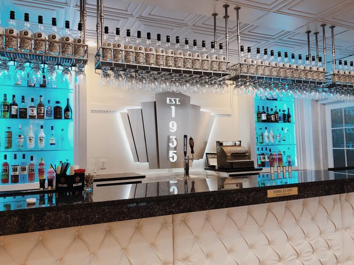 Silver Theater's vintage bar