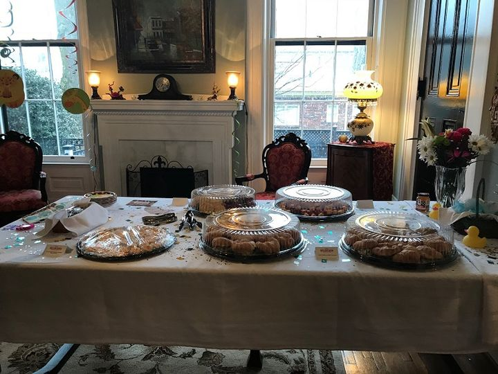Food from baby shower