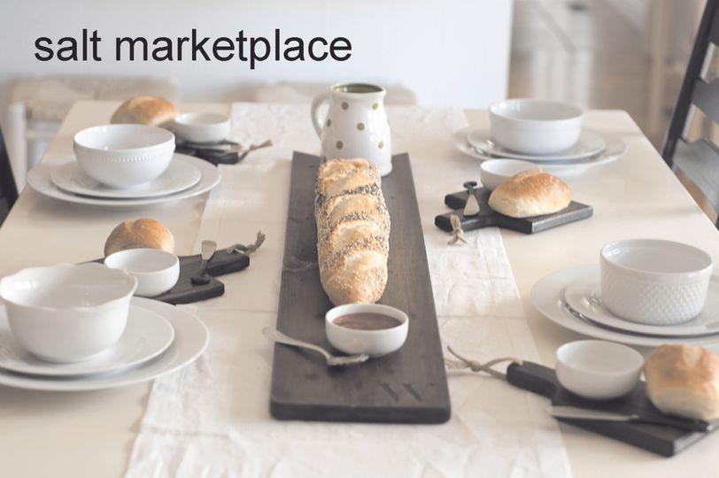 bread boards table setting