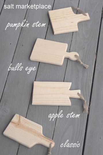 bread boards four styles