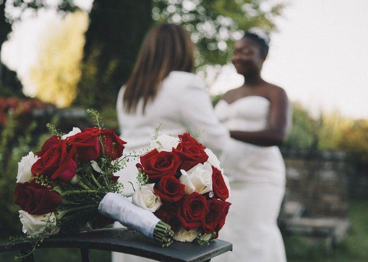 Intimate ceremony site