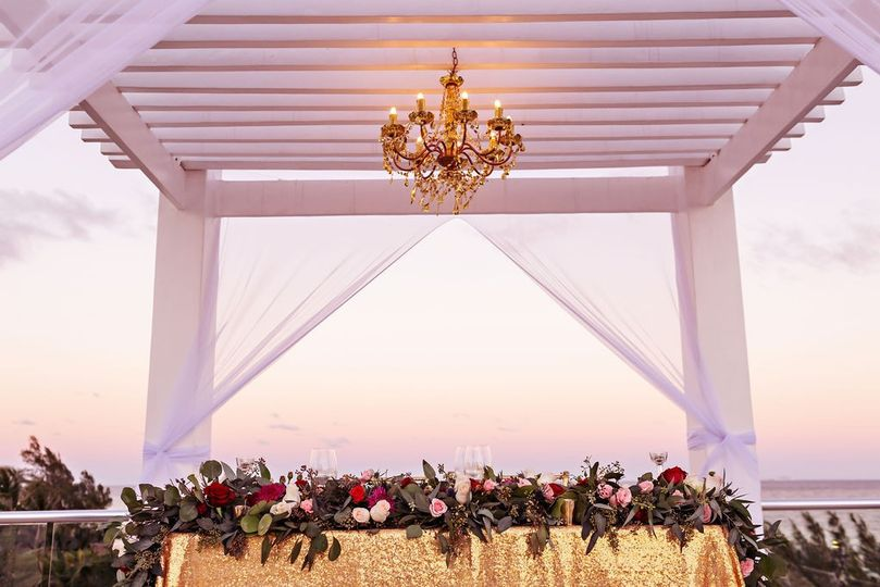 Reception gazebo