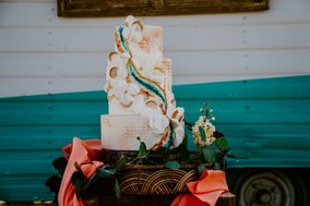 Grapefruit & Thyme Cake Design