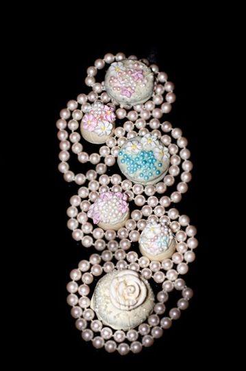 Bridal Collection Artisan Oreos Bridal Truffles Handmade Specialty  Dipped in Dark, Milk or White...