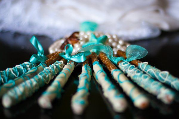 Bridal Collection Artisan Pretzels Handmade Specialty  Dipped in Dark, Milk or White Chocolate...
