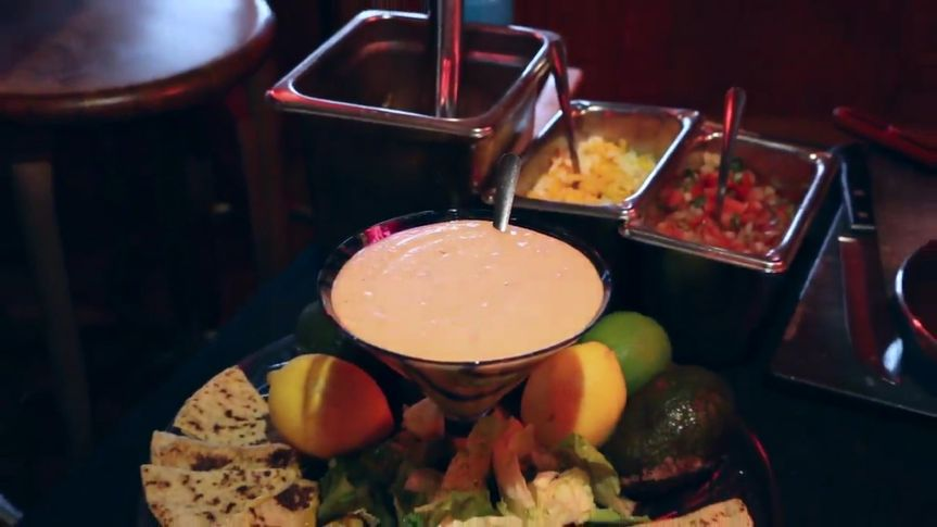 Mouthwatering queso bar
