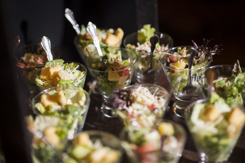 Individual Salads in Bolero Glasses