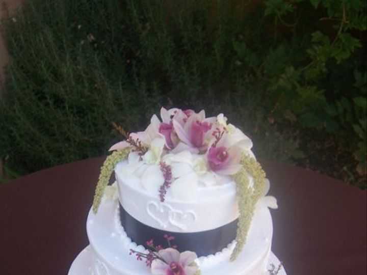 Tmx 1222264628511 Brownorchids Paso Robles wedding cake