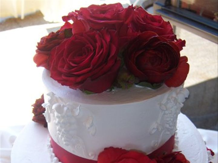 Tmx 1222265522261 Red Grapedetail Paso Robles wedding cake