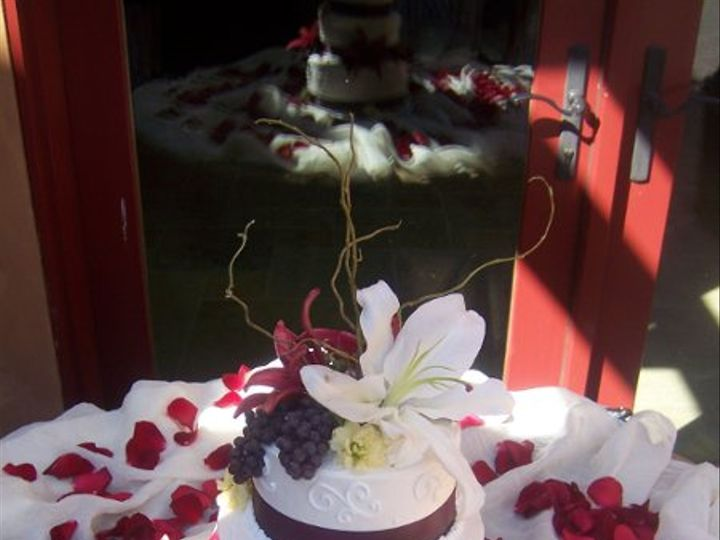 Tmx 1226875532344 Willowbarkcake Paso Robles wedding cake