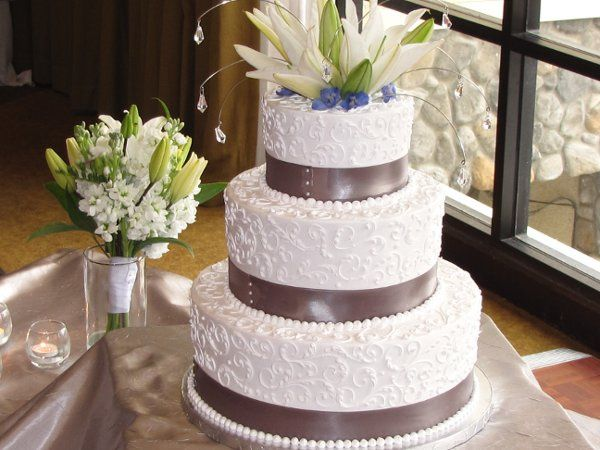 Tmx 1269789118549 Platinumandblue Paso Robles wedding cake